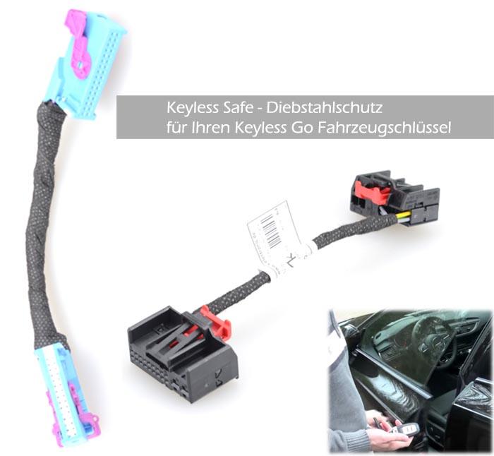 Keyless Safe - Adapter zur Deaktivierung der Türsensorik bei Keyless Go Modellen