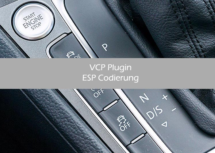 ESP Codierung mit VCP Interface