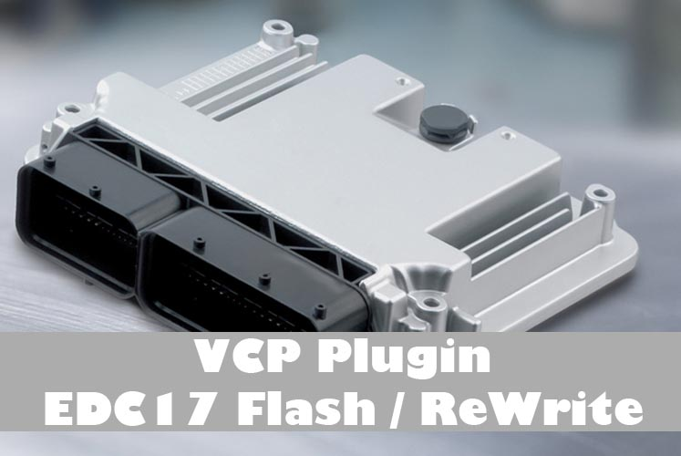 EDC17 Flash Option für VCP und VCP+K