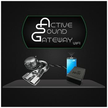 active sound gateway wifi soundsteigerung asgw 1. Black Bedroom Furniture Sets. Home Design Ideas