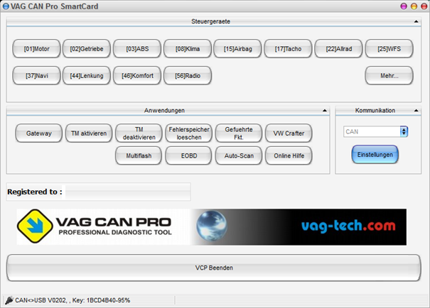 Vcp Vag Can Professional Interface Vcp 1