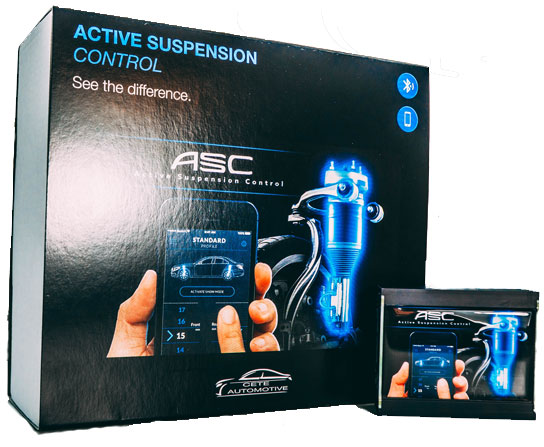 Active Suspension Control BLE - Audi Adaptive Air Suspension Tieferlegung per APP-Steuerung